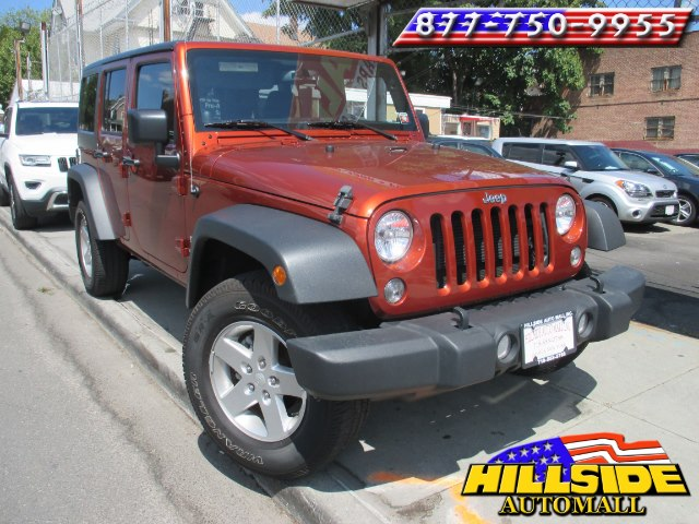 2014 Jeep Wrangler Unlimited 4WD 4dr Sport We have assembled the most advanced network of lenders
