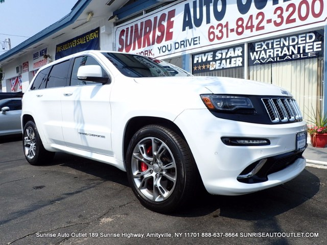 2014 Jeep Grand Cherokee 4WD 4dr SRT8 Sunrise Auto Outlet  is the car shopping destination for Lon