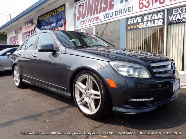 2011 MERCEDES C-Class 4dr Sdn C300 Luxury 4MATIC Sunrise Auto Outlet  is the car shopping destinat