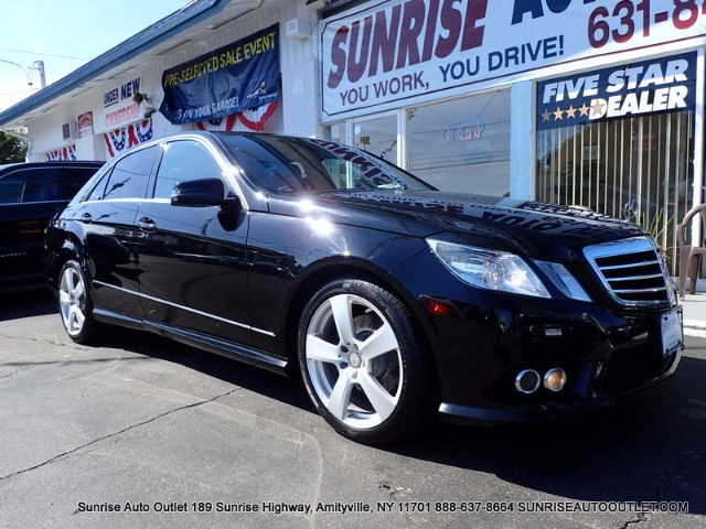 2010 MERCEDES E-Class 4dr Sdn E350 Sport 4MATIC Sunrise Auto Outlet  is the car shopping destinati