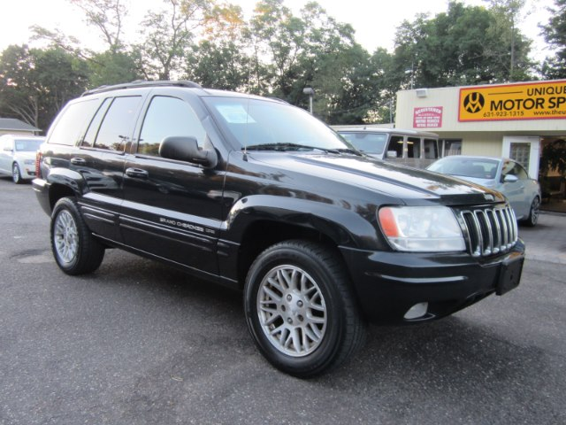 2003 jeep grand cherokee brilliant blk crystal pearl unique motor sports. Black Bedroom Furniture Sets. Home Design Ideas