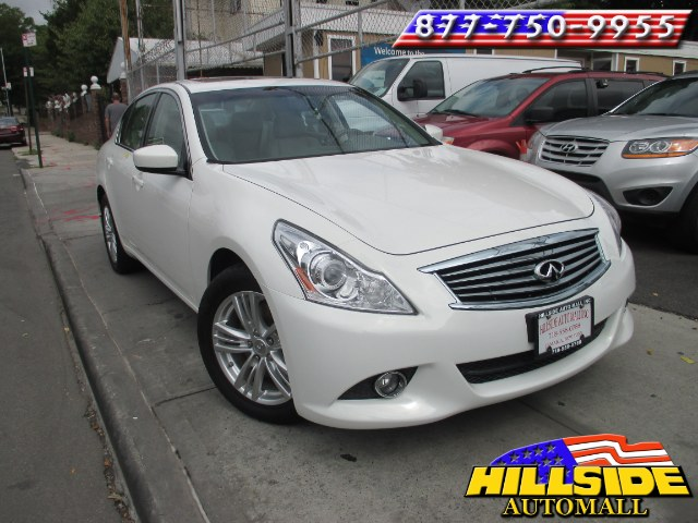 2012 Infiniti G37 Sedan 4dr x AWD We have assembled the most advanced network of lenders to ensure