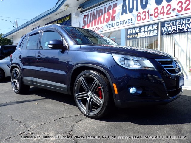 2011 Volkswagen Tiguan 4WD 4dr SE 4Motion wSunroof  Sunrise Auto Outlet  is the car shopping dest