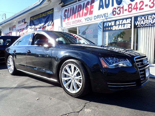 2012 Audi A8 4dr Sdn Sunrise Auto Outlet  is the car shopping destination for Long Island Queens