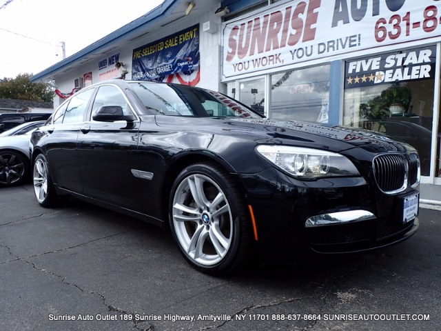 2013 BMW 7 Series 4dr Sdn 750i xDrive AWD Sunrise Auto Outlet  is the car shopping destination for