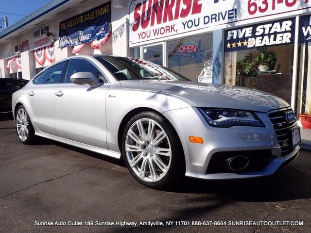 2012 Audi A7 4dr HB quattro 30 Prestige Sunrise Auto Outlet  is the car shopping destination for