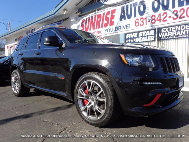 2013 Jeep Grand Cherokee 4WD 4dr SRT8 Ltd Avail Sunrise Auto Outlet  is the car shopping destina