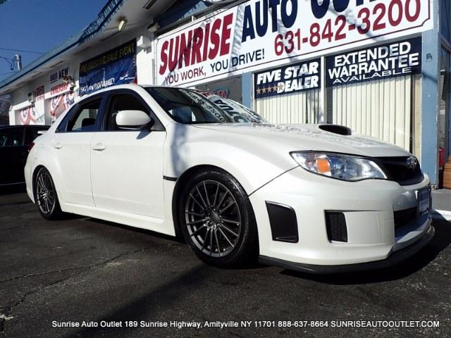 2013 Subaru Impreza Sedan WRX 4dr Man WRX Sunrise Auto Outlet  is the car shopping destination for