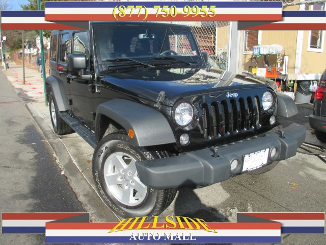 2015 Jeep Wrangler Unlimited 4WD 4dr Sport Hi folks thank you for taking the time out of your busy