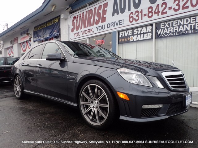 2013 MERCEDES E-Class 4dr Sdn E63 AMG RWD Sunrise Auto Outlet  is the car shopping destination for