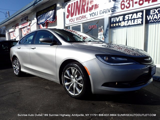 2015 Chrysler 200 4dr Sdn S FWD Sunrise Auto Outlet  is the car shopping destination for Long Isla