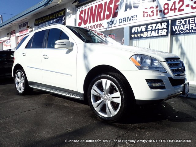 2011 MERCEDES M-Class 4MATIC 4dr ML350 Sunrise Auto Outlet  is the car shopping destination for Lo