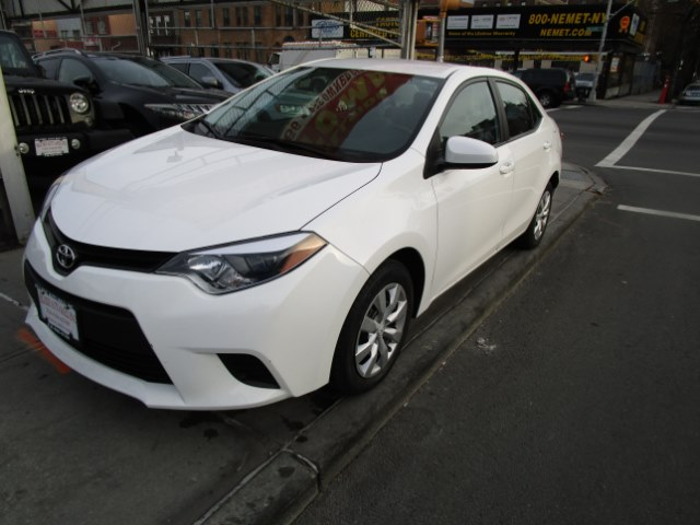 2014 Toyota Corolla 4dr Sdn CVT LE Natl Hi folks thank you for taking the time out of your busy