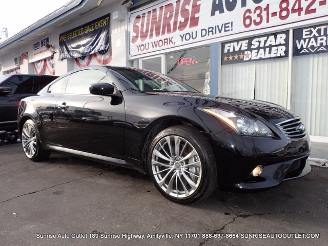 2013 Infiniti G37 Coupe 2dr x AWD Clean CARFAX 1-Owner VehicleAll-Wheel DriveNavigation Package