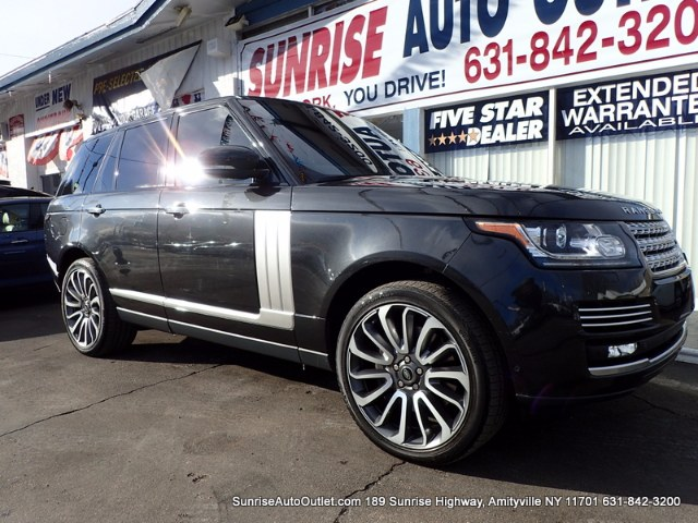 2014 Land Rover Range Rover 4WD 4dr Supercharged Autobiogr Sunrise Auto Outlet  is the car shoppin