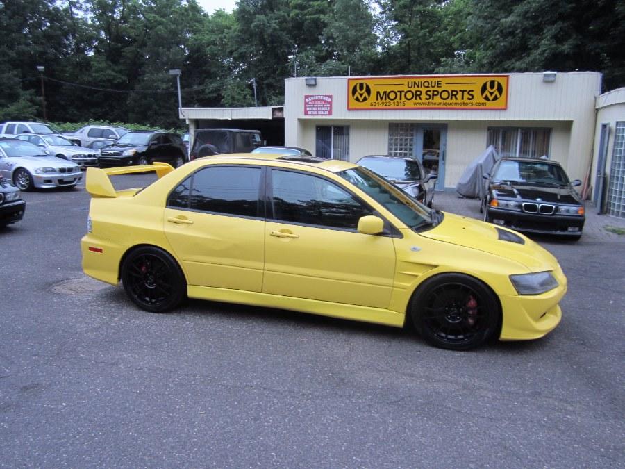 2003 Mitsubishi Lancer Evolution Lightning Yellow
