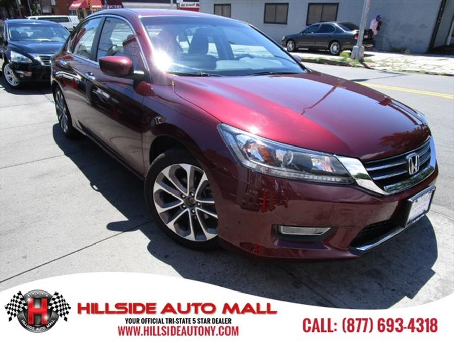 2013 Honda Accord Sdn 4dr I4 CVT Sport Hi folks thank you for taking the time out of your busy day