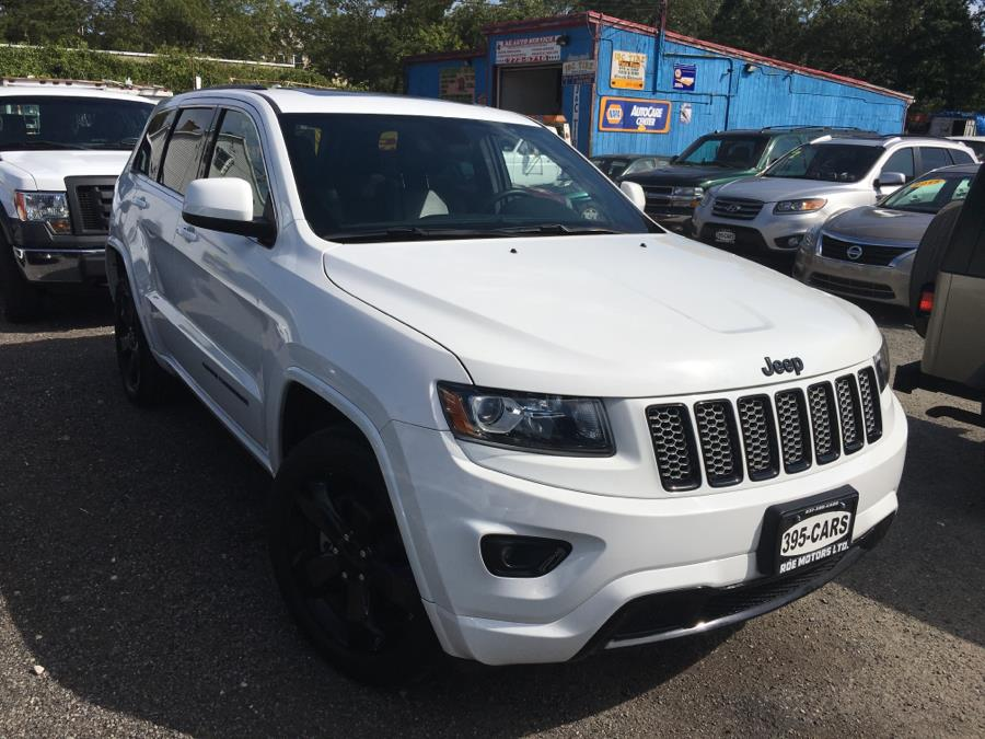 2015 Jeep Grand Cherokee Bright White Clearcoat Roe