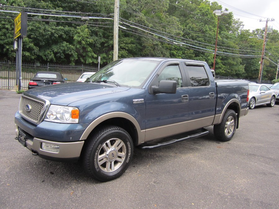 used 2005 ford f 150 supercrew lariat 4wd mileage 2017. Black Bedroom Furniture Sets. Home Design Ideas