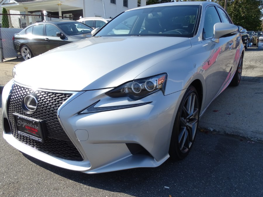 2014 lexus is 250 f sport silver lining metallic signature auto sales. Black Bedroom Furniture Sets. Home Design Ideas