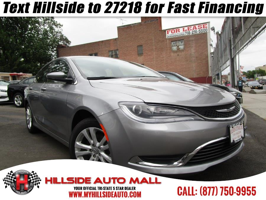 2015 Chrysler 200 4dr Sdn Limited FWD Hi folks thank you for taking the time out of your busy day