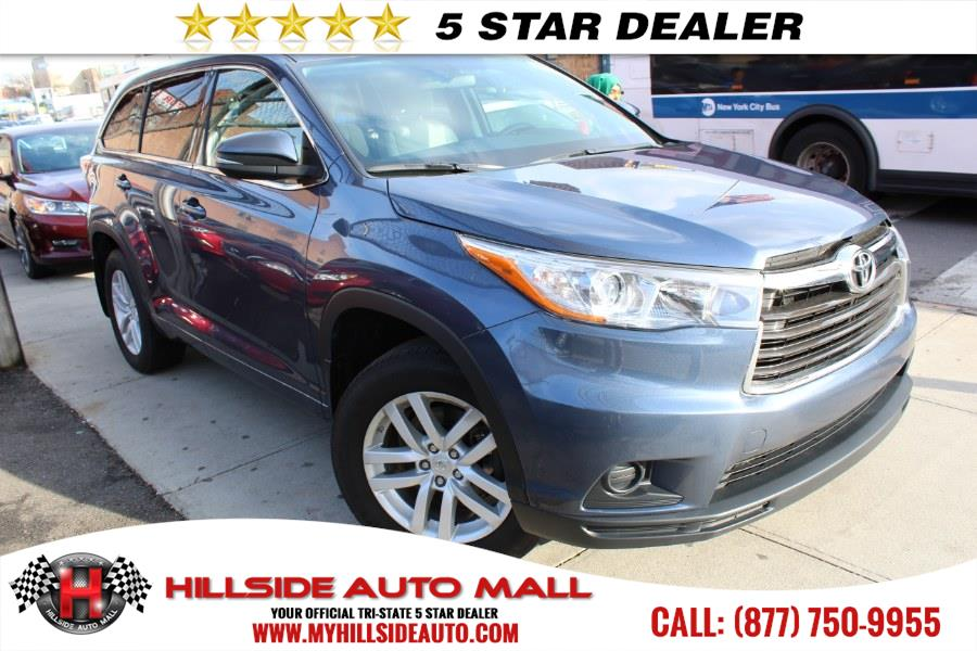 2015 Toyota Highlander AWD 4dr V6 LE Natl Hi folks thank you for taking the time out of your bus