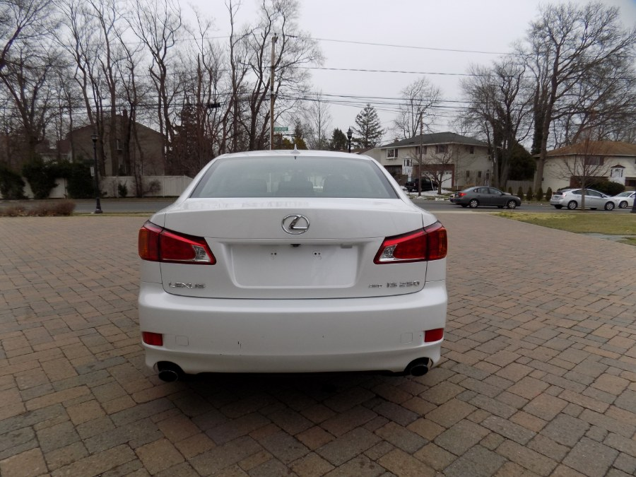 2010 Lexus Is 250 Pearl White South Shore Auto Brokers