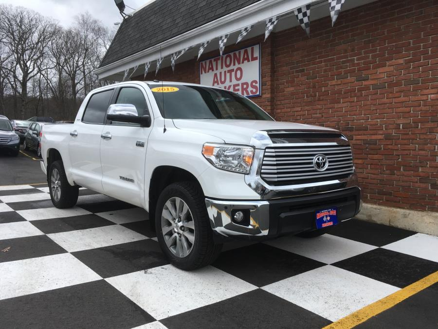 2015 toyota tundra 4wd truck crewmax 5 7l v8 limited in waterbury ct used cars for sale on. Black Bedroom Furniture Sets. Home Design Ideas
