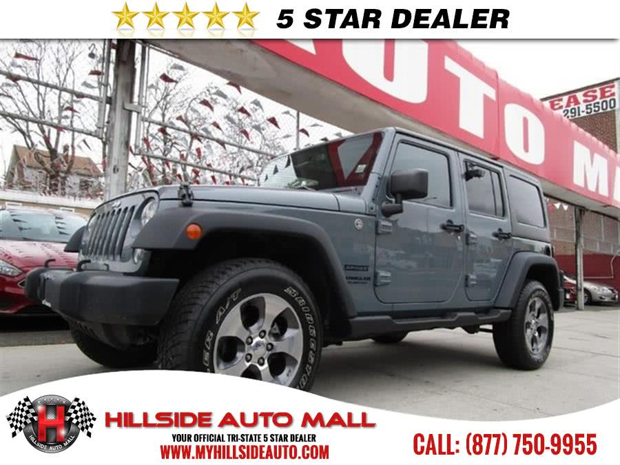 2014 Jeep Wrangler Unlimited 4WD 4dr Willys Wheeler Hi folks thank you for taking the time out of