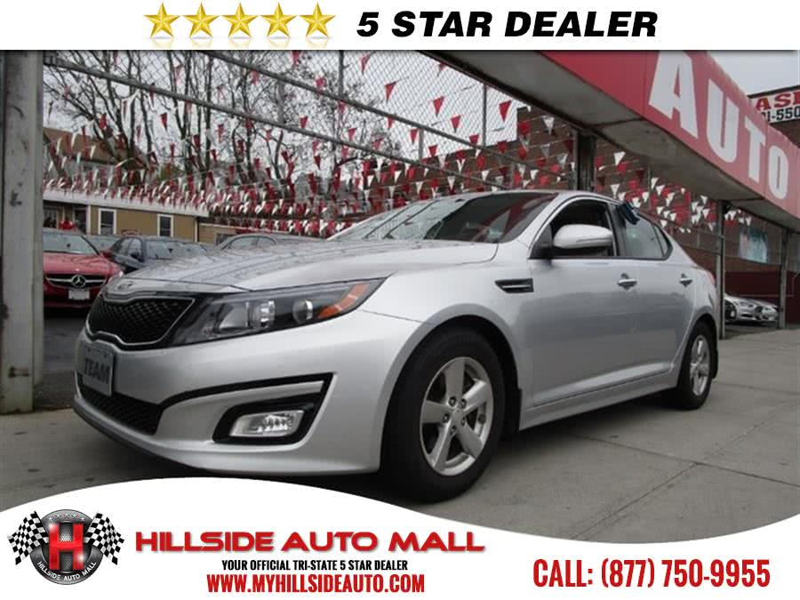 2015 Kia Optima 4dr Sdn LX Hillside Auto Mall is the car shopping destination for Long Island Que