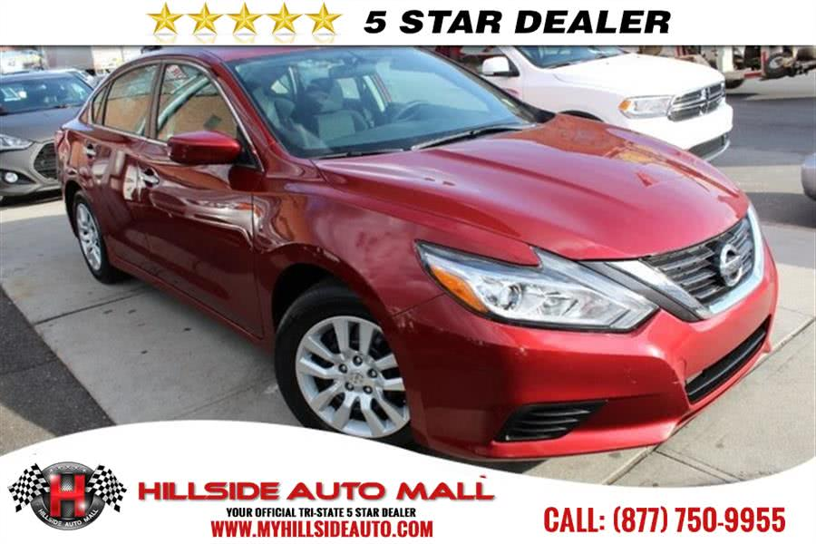 2016 Nissan Altima 4dr Sdn I4 25 S Hi folks thank you for taking the time out of your busy day an