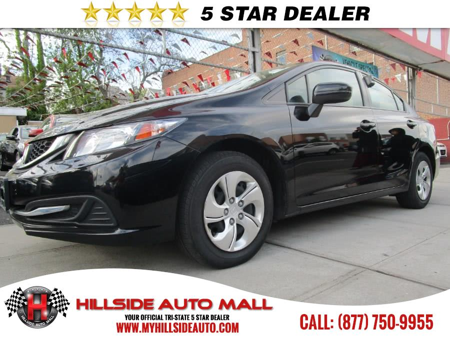 2014 Honda Civic Sedan 4dr CVT LX Hillside Auto Mall is the car shopping destination for Long Isla