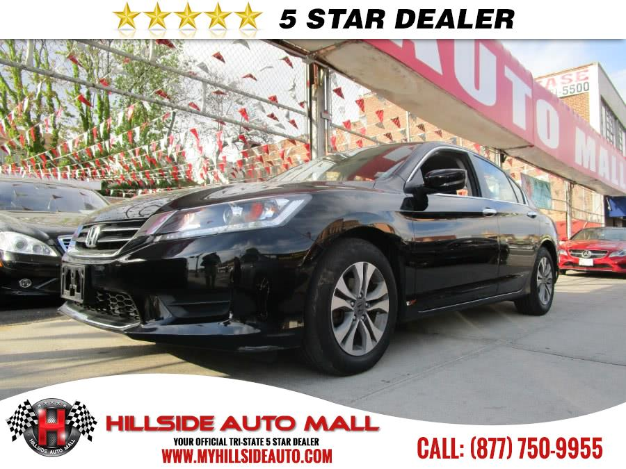 2015 Honda Accord Sedan 4dr I4 CVT LX Hillside Auto Mall is the car shopping destination for Long