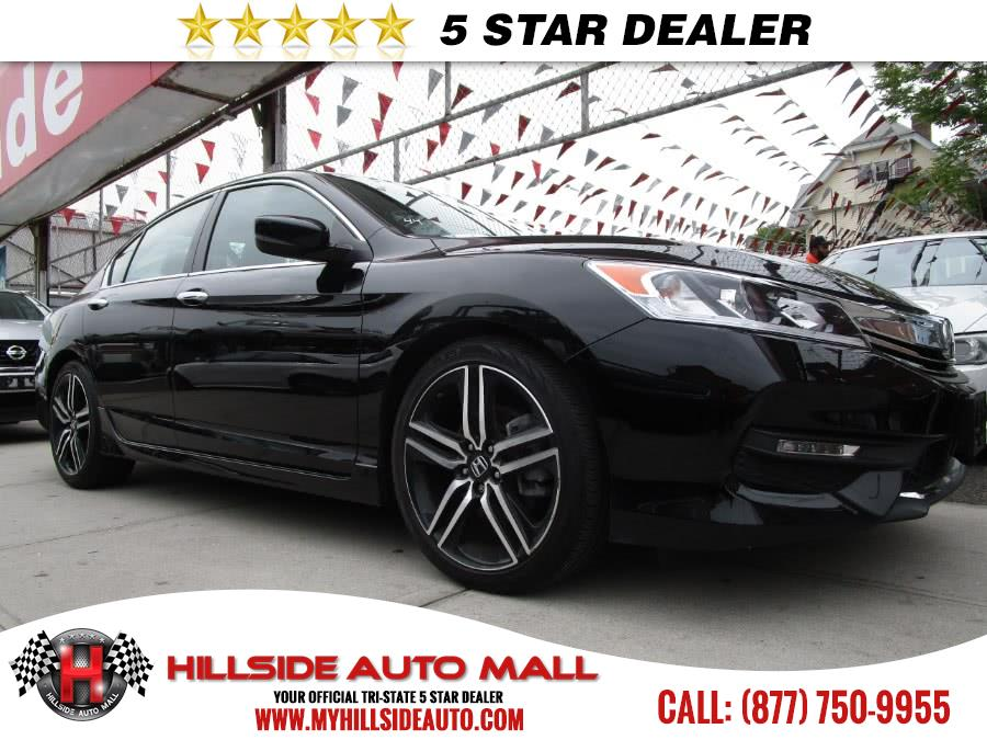 2016 Honda Accord Sedan 4dr I4 CVT Sport Hillside Auto Mall is the car shopping destination for Lo