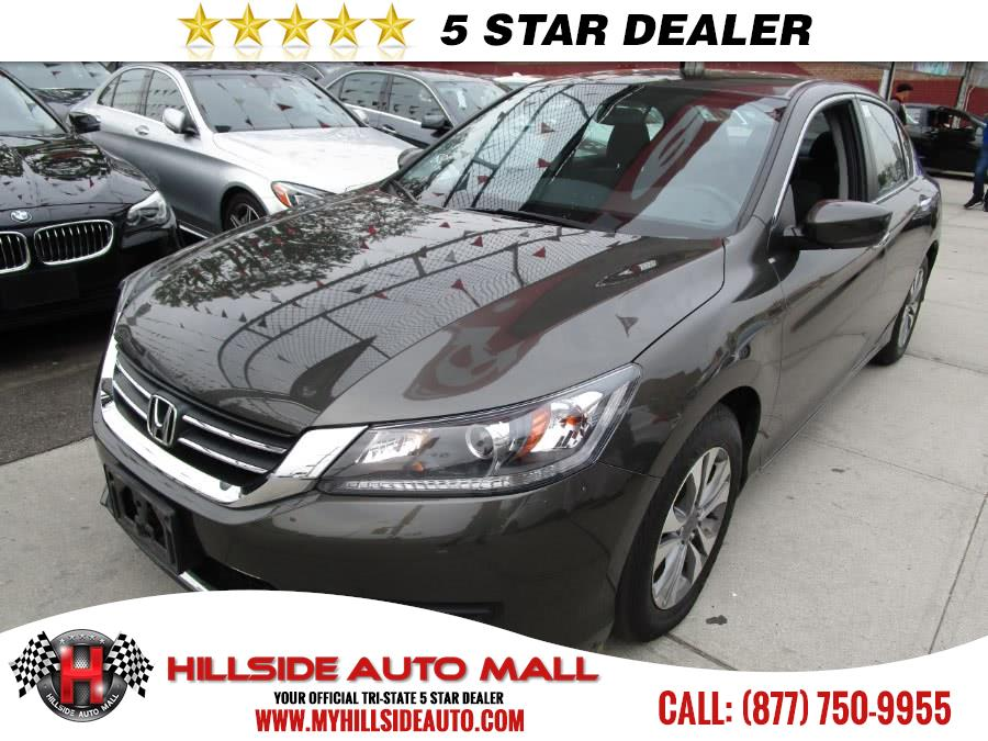 2014 Honda Accord Sedan 4dr I4 CVT LX Hillside Auto Mall is the car shopping destination for Long