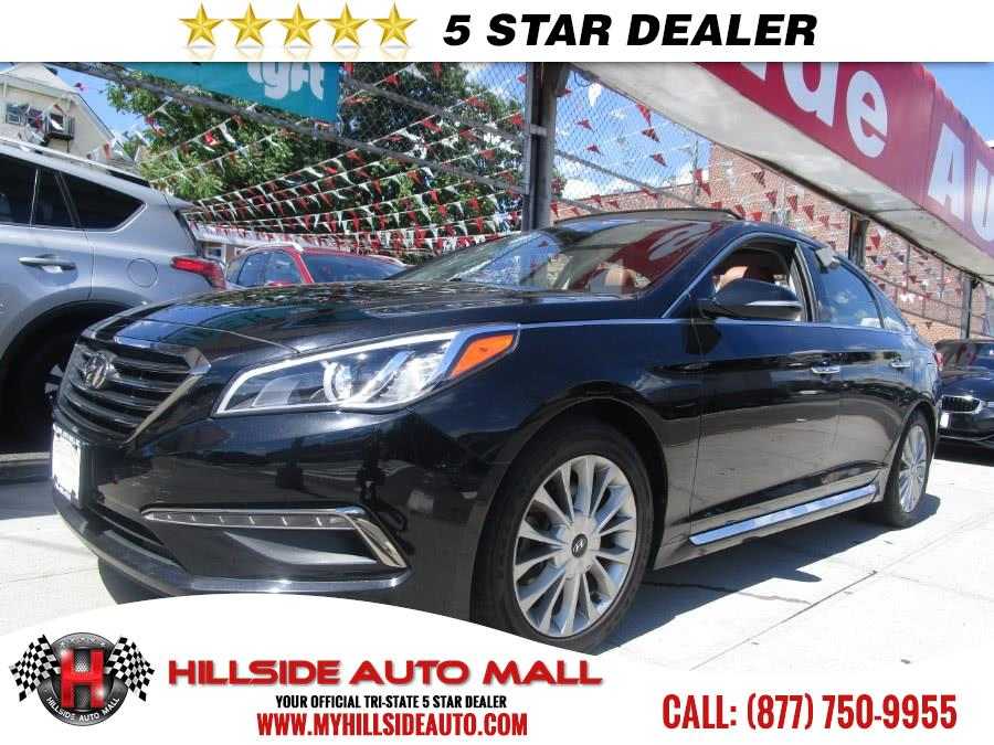 2015 Hyundai Sonata 4dr Sdn 24L Limited wBrown Seats Hillside Auto Mall is the car shopping dest