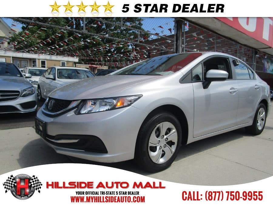2015 Honda Civic Sedan 4dr CVT LX Hillside Auto Mall is the car shopping destination for Long Isla