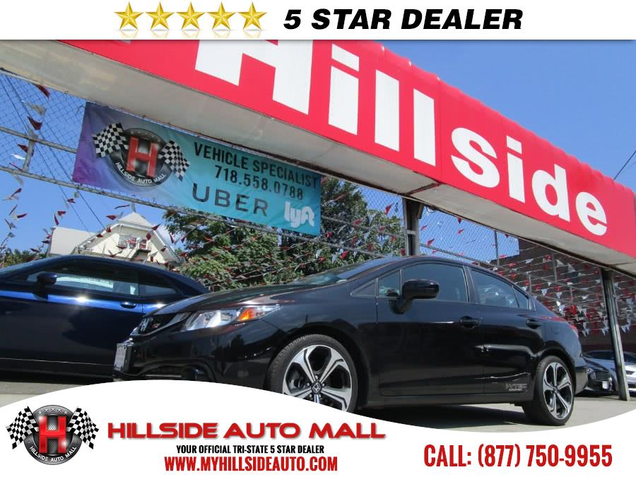 2015 Honda Civic Sedan 4dr Man Si wSummer Tires Hillside Auto Mall is the car shopping destinatio