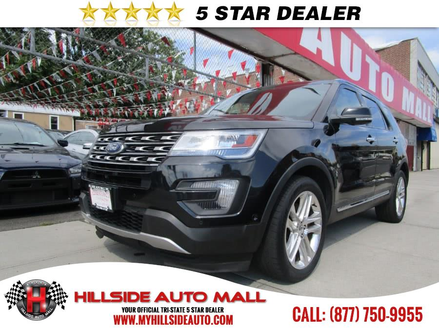 2016 Ford Explorer 4WD 4dr Limited Hillside Auto Mall is the car shopping destination for Long Isl