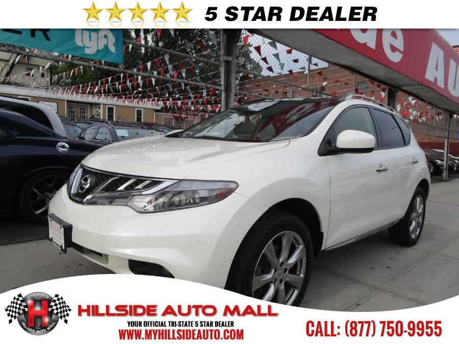 2014 Nissan Murano AWD 4dr SL Hillside Auto Mall is the car shopping destination for Long Island