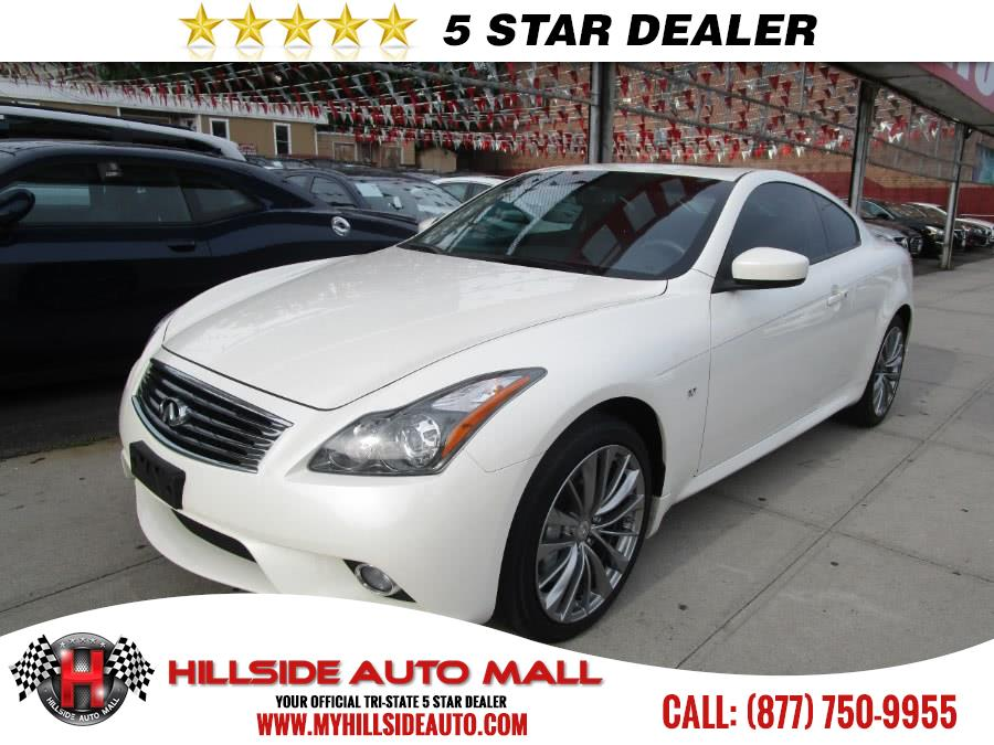 2015 INFINITI Q60 Coupe 2dr Auto AWD Hillside Auto Mall is the car shopping destination for Long I