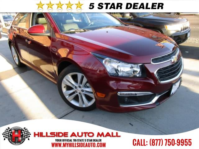 2015 Chevrolet Cruze 4dr Sdn LTZ Hi folks thank you for taking the time out of your busy day and l