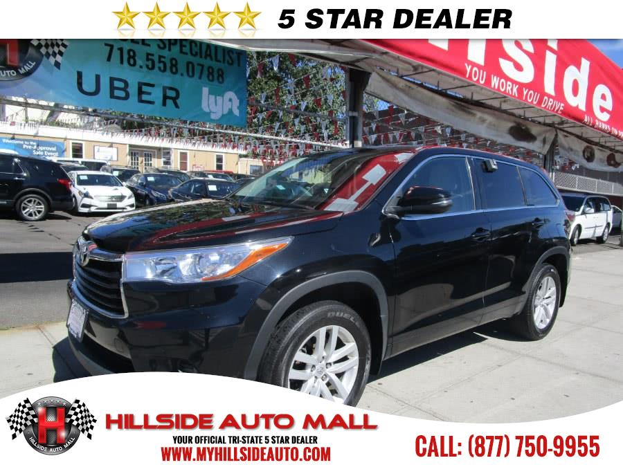 2015 Toyota Highlander AWD 4dr V6 LE Natl Hillside Auto Mall is the car shopping destination for