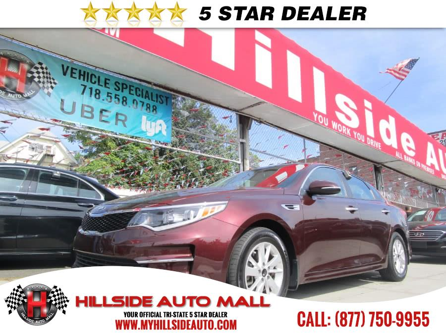 2016 Kia Optima 4dr Sdn LX Hillside Auto Mall is the car shopping destination for Long Island Que