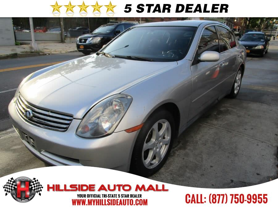 2003 Infiniti G35 Sedan 4dr Sdn Auto wLeather Hillside Auto Mall is the car shopping destination