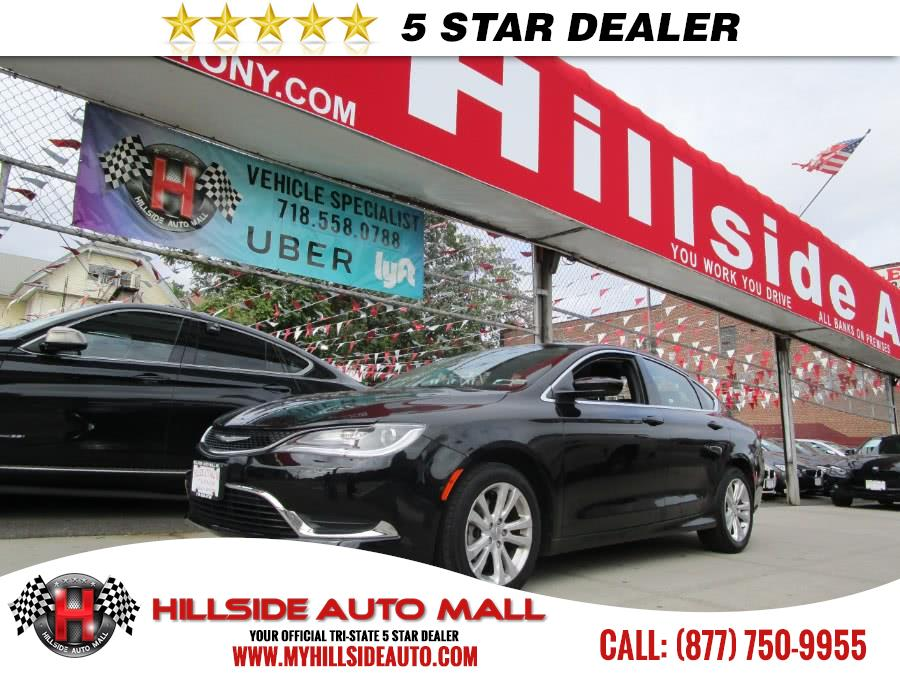 2015 Chrysler 200 4dr Sdn Limited FWD Hillside Auto Mall is the car shopping destination for Long