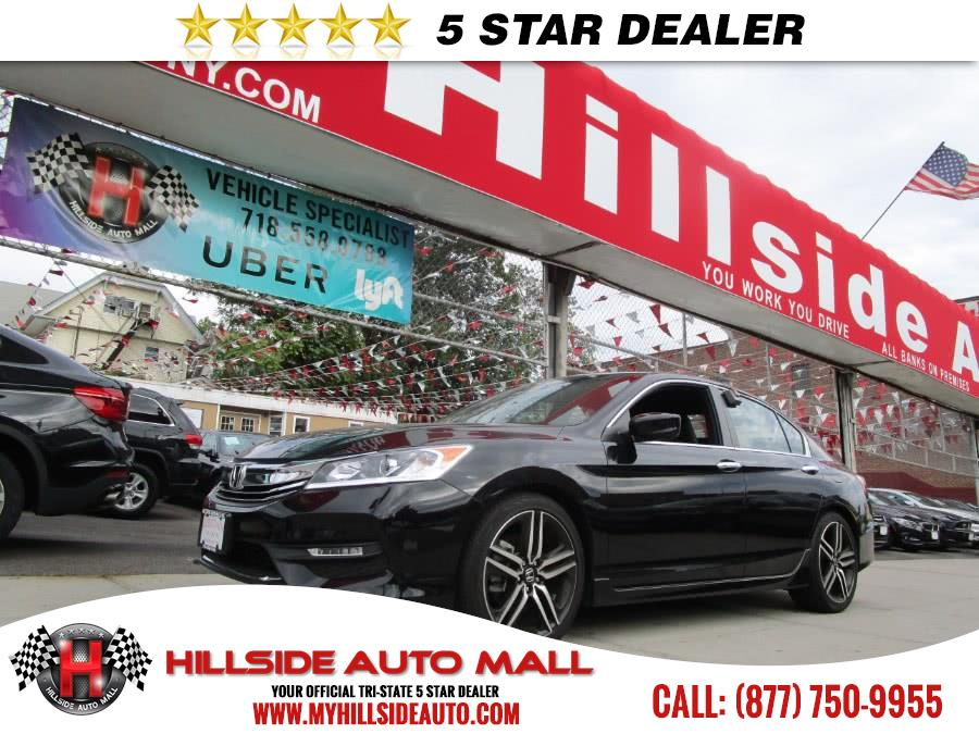 2017 Honda Accord Sedan Sport CVT Hillside Auto Mall is the car shopping destination for Long Isla