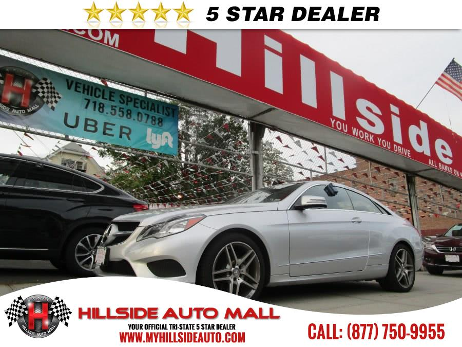 2015 MERCEDES E-Class 2dr Cpe E 400 4MATIC Hillside Auto Mall is the car shopping destination for