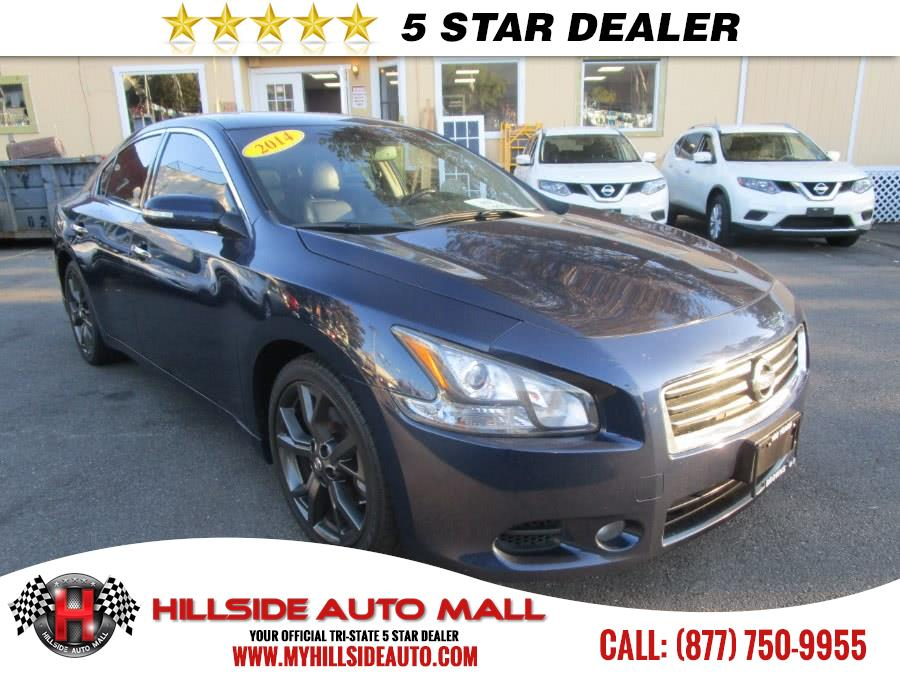 2014 Nissan Maxima 4dr Sdn 35 SV wSport Pkg Hillside Auto Mall is the car shopping destination f