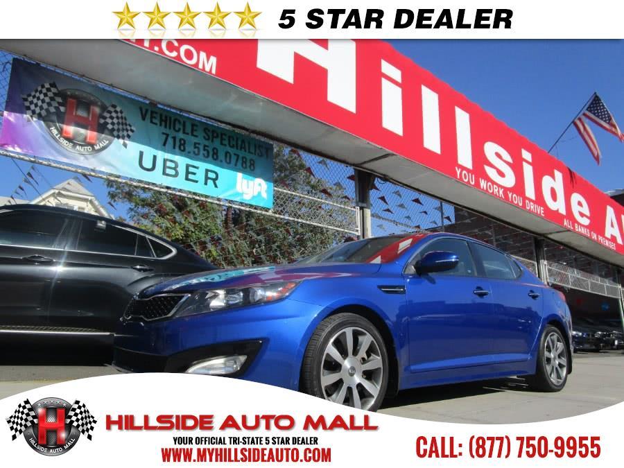 2013 Kia Optima 4dr Sdn SX wLimited Pkg Hillside Auto Mall is the car shopping destination for Lo